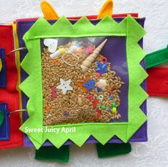 I Spy Quiet Book Page by SweetJuicyApril on Etsy