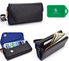 Blu Quattro 4.5 Hd Universal Black W/ Saphire Blue Interior Wristlet Wallet http://www.smartphonebug.com/accessories/top-18-blu-quattro-4-5-hd-cases-and-covers/