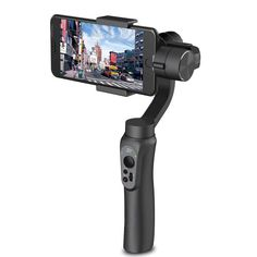 Handheld Smartphone Gimbal 3-Axis Built-in Battery Light Weight Simple Design