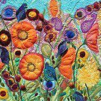 Fairy tales of felt Wool Needle Felting, Nuno Felting, Wet Felting Projects, Scrap Quilt Patterns, Creative Textiles, Free Motion Embroidery, Fabric Art, Fabric Books, Felt Art