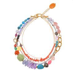 Kirsten Goss boa necklace