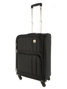 Valise trolley cabine à roulettes - GILANCE - Noir - 1015/45