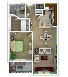 Another possible footprint plan for the old house reno 720 for 450 square foot apartment floor plan