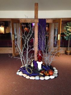 Cuaresma on pinterest lent palm sunday and good friday for Lent decorations for home