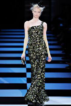 Armani Privé Spring 2012 Couture Fashion Show - Aymeline Valade