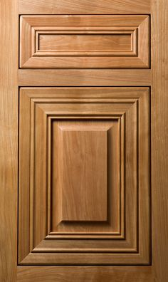 Meridian wr door in plainsawn white oak in driftwood stain for Meridian cabinet doors