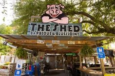 ate here alot when I lived in Van Cleave. The Shed Barbeque & Bluesjoint, Ocean Springs, Mississippi.  TheSouth