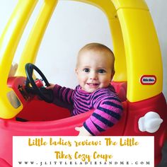 Did you have a Little Tikes Cozy Coupe as a child? The little ladies have road tested the 30th anniversary edition and put it through its paces. If you are looking for a toy that has great play value indoors and outdoors then read our review by clicking the link below, complete with a video of the girls taking it for a drive. http://www.3littleladiesandme.com/2016/10/little-ladies-review-little-tikes-cozy.html