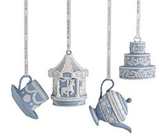 Wedgewood ornaments