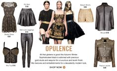 OPULENCE Trends at Fashion Union October 2012