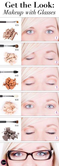 6 tutos maquillage géniaux pour celles qui portent des lunettes | Astuces de filles
