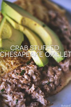 Crab Stuffed Chesapeake Omelet