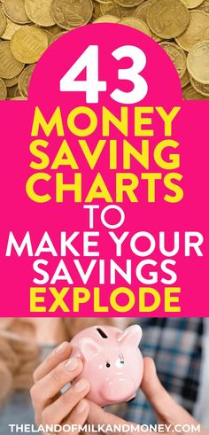 43 amazing money-saving charts to transform your finances in 2020 These money saving charts are perfect for showing me how to save money in all areas of my life! I really needed some saving money tips to work on my money management so having a saving mone Save Money On Groceries, Ways To Save Money, Money Tips, Money Saving Tips, Money Plan, Money Savers, Savings Challenge, Money Saving Challenge, Savings Chart