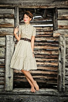 Resi-Kleid, Lena Hoschek Tradition Frühjahr/Sommer 2014