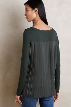 Anly Boatneck Tee #anthropologie
