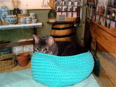 Crochet Snuggle Tubbie... this is new style of Snuggle meant to give a little curl-up place for frightened shelter animals... the psychological effects of this design is a great comfort in feeling safe... the Snuggle Project... Hugs for Homeless Animals