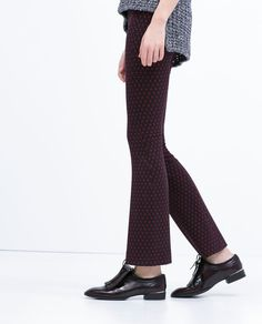 FRINGED LEATHER BLUCHERS-View all-Shoes-WOMAN | ZARA United States