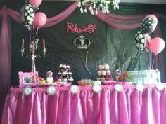 Main table - Khloes Princess Decoration