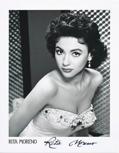 Autographe Rita Moreno Original Signé Photo 20x25 | eBay