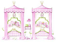 """Isabelle Fregevu Claracq Illustratrice """"Les Filles sont des Princesses"""