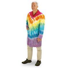 Tie-Dye Lab Coat - Large (44)