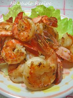 Comer en Hawai ★ Camarones al Ajillo por Easy Housewife - Jeycaux Shrimp Recipes, Fish Recipes, Asian Recipes, Healthy Dinner Recipes, Cooking Recipes, Garlic Shrimp, Seafood Dishes, No Cook Meals, Love Food