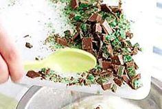 Jennifer's Peppermint Crisp fridge tart