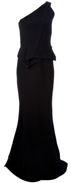 ROLAND MOURET  Black Wendover Dress