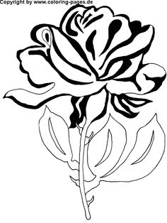 free adult coloring pages printable | Flower Coloring Pages | Free Flower Coloring Pages for Kids.