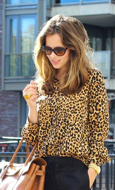 .Leopard shirt in morning