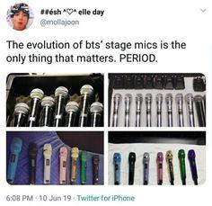 Their new mics😍 But I AM pretty sure they cost more than my whole life. Bts Namjoon, Bts Bangtan Boy, Taehyung, Seokjin, Hoseok, Jungkook Hot, Bangtan Bomb, Jikook, Namjin