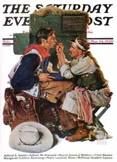 Saturday Evening Post Covers #350-399