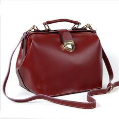 (FL000432) 2012 Spring New Influx Of Female British Postman Vintage Doctor Bag Messenger Boston Handbag