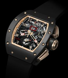 Richard Mille - RM011 Felipe Massa Black Kite Flyback Chronograph