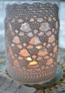 Die 17 Besten Bilder Von Gläser Umhäkeln Lantern Yarns Und