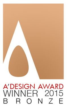 Bronze A' Design Award 2015 for Interior Space, Retail and Exhibition Design category to the project Hotel de Rougemont.