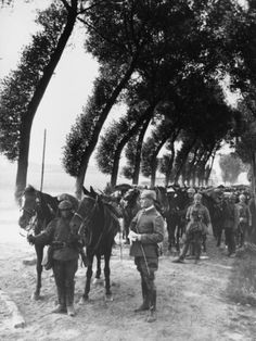 German Cavalry Stationed Near the Arras Front on the Western Front During World War I Photographic Print by Robert Hunt at AllPosters.com