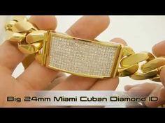 BIG FAT CUBAN LINK BRACELETS - YouTube