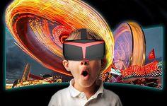 Visore UCVR VIEW per Realtà Virtuale Android, Apple e Windows Phone