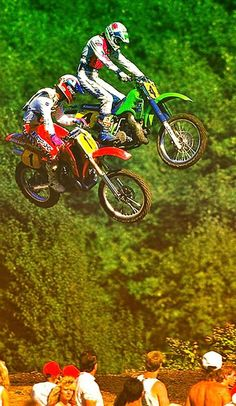 Pure Motocross. : Ricky Johnson and Ron Lechien