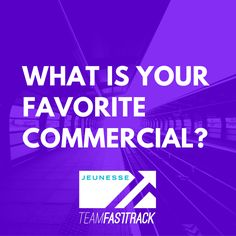 What's your favorite commercial? #commercials #questiontime http://teamfasttrack.com/