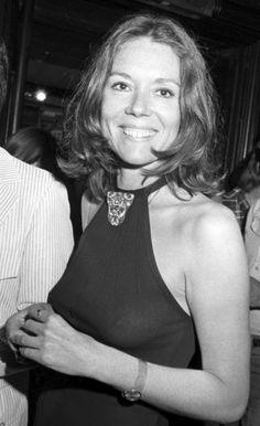 Diana Rigg braless