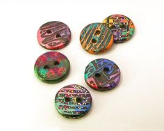 Handmade Resin Sewing Buttons