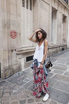 Where to stay in Paris // Hotel Adele & Jules – Fashion Outfits Style Désinvolte Chic, Look Boho Chic, Style Casual, Mode Style, Casual Chic, Boho Fashion, Fashion Dresses, Womens Fashion, Male Fashion