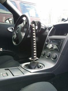 """Custom Shift knob - badass """