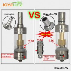 Joyelife Hercules V2 updated RDA The troll rda atomizer Authentic troll rda designed by WOTOFO A-MOD VS Doge V2 RDA Freak show ATTY DHL free