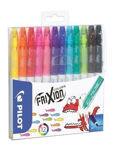 Amazon.de: Pilot Fasermaler - Filzstifte FriXion Colors, löschbar, radierbar 12-er Set [Deutsche Edition]