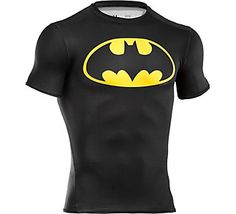 Nanananananananana....Batman! // Under Armour Mens Alter Ego Compression T-Shirt | Scheels
