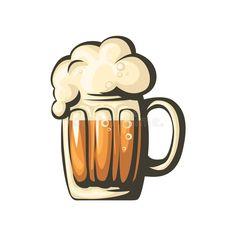 Beer Hampers, Hanging Wine Glass Rack, Graffiti, Beer Art, Cute Stickers, Cute Drawings, Craft Beer, Graphic Illustration, Collage Art