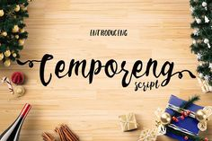 Cemporeng Script by Ojes Studio on @creativemarket